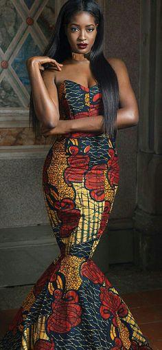 ♡African Print in Fashion Sura P. Kanye @inkmyafrica
