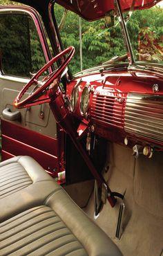 1952 Chevy Truck Dash