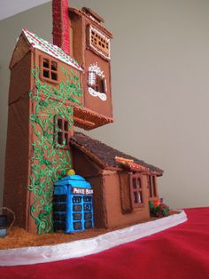 gingerbread weasley 39 s house and a tardis cuz my. Black Bedroom Furniture Sets. Home Design Ideas