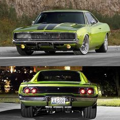 Photography — Mean '68 Dodge Charger