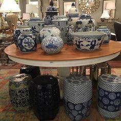 Seleção linda de azuis na Maria Pia Casa  #olioliteam #latabledegiselle #decor #giroporsp
