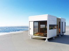 Portable Prefab Pod Property: Compact, Minimal Contemporary - http://www.studioaflo.com/others/portable-prefab-pod-property-compact-minimal-contemporary/