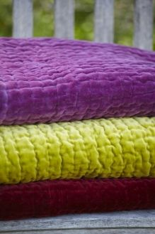 Yummy velvet quilts