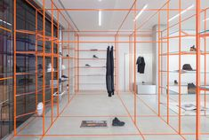 Acquasalata Clothing Store in Cattolica, Italy by Storage associati   Yellowtrace