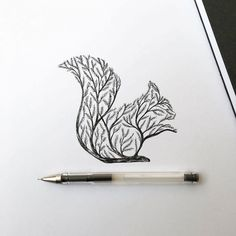 beautiful-pen-ink-animal-trees-illustrations-nature-drawings (9)