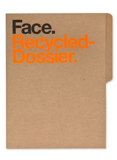 Face. Branding. by Face. , via Behance