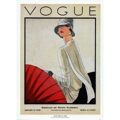 Vogue Magazine Cover Art Fashion Illustration Wall Art Print,... (€9,81) ❤ liked on Polyvore featuring home, home decor, wall art, interior wall decor, mounted wall art and home wall decor