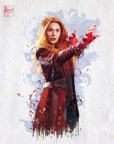 Scarlet Witch: Infinity War by Mayank Kumar.