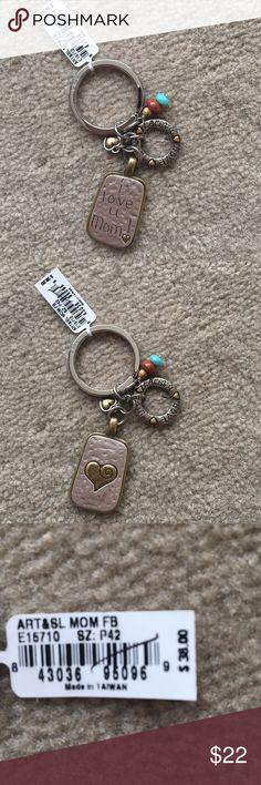Brighton Mom Keychain - NWT Brighton Mom Keychain Brighton Jewelry Bracelets
