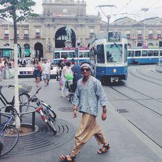 Me, BatikChic and Zurich!