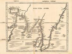 83) Tabula Moderna Indiae
