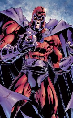 Magneto // artwork by Joe Madureira and Jeremy Colwell (2011)