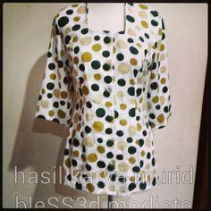 Polkadot blouse - bleSS3d modiste Sewing project
