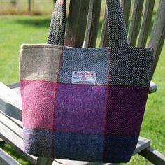 Harris tweed shoulder bag -    tweed-at-heart.co.uk