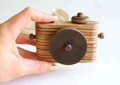 Special Collection  African Zebrawood Wooden Toy by twigcreative, $40.00