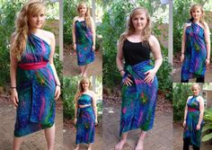 sarongs | All silks sarongs are hand washable and take a hot steam iron. Prices ...