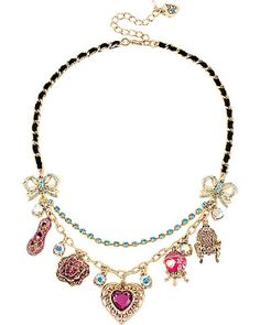 Betsey Johnson IMPERIAL HEART NECKLACE