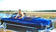 Early fifties Ford Convertible