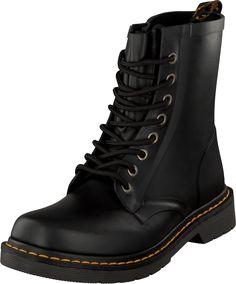 Dr Martens - Wellington 1460 Black Dr. Martens, Combat Boots, Black, Fashion, Moda, Combat Boot, Black People, All Black, Fasion