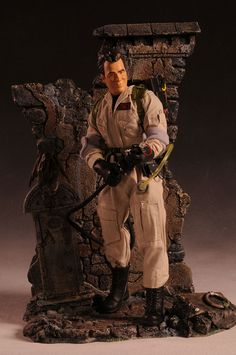 Grave Danger Triarama action figure display by Triad Toys