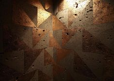 volcanic stone & copper triangles | Nüba Club by Emmanuel Picault, Ludwig Godefroy and Nicolas Sisto