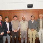 Raúl Chico participó en Mendoza de la reunión de las provincias vitivinícolas