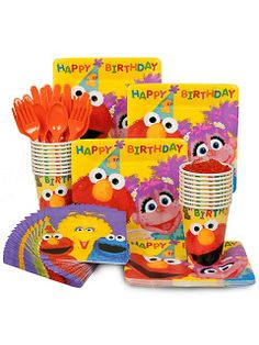 Sesame 1st Birthday Standard Kit
