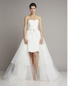 Charming short dress featuring a long reversible skirt  www.giuseppepapini.com