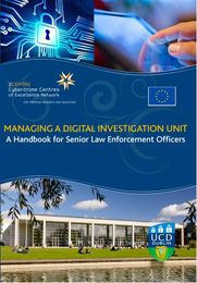 Handbook - Managing a Digital Investigation Unit Law Enforcement Officer, Forensics, Investigations, Centre, Management, The Unit, Train, Digital, News
