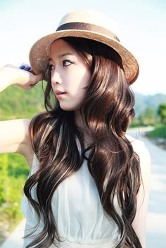 There isn't a product yet that can make MY long wavy hair look like this. Sigh.