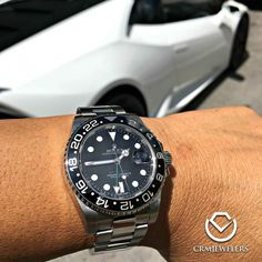 Rolex GMT2 in Steel! Like New condition. $6750 Email us for more Information