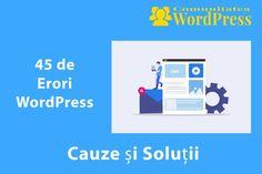 45 de Erori WordPress – Cauze și Soluții Wordpress, Club