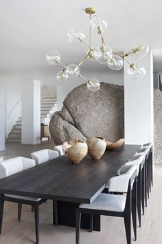 Transitional Dining Chairs, Contemporary Dining Chairs, Transitional Decor, Contemporary Kitchens, Contemporary Living Room Decor Ideas, Modern Decor, Contemporary Chandelier, Contemporary Furniture, Contemporary Design