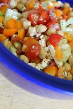 Life on Food: Chopped Greek Salad