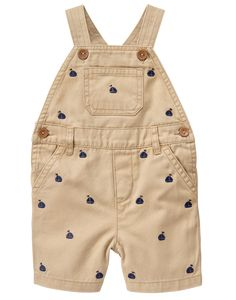 Newborn Classic Khaki Sailboat Overalls by Gymboree Toddler Outfits, Boy Outfits, Baby Boy Overalls, Cute Babies, Baby Kids, Kids Fashion Boy, Gymboree, Overall Shorts, Baby Dress
