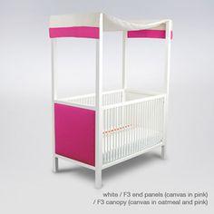a canopy crib? perfect!