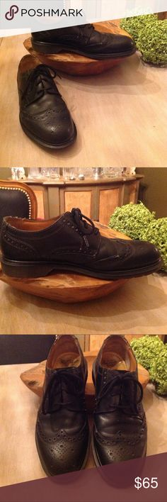 Dr Martens wingtip shoes ....made in England Pre-owned, made in England Dr. Martens Shoes