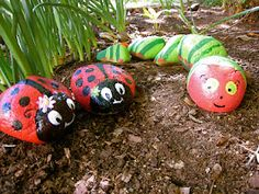 Painted rocks have become one of the most addictive crafts for kids and adults! Want to start painting rocks? Lets Check out these 10 best painted rock ideas below. Garden Crafts, Garden Projects, Garden Tips, Rock Crafts, Crafts To Make, Animal Decor, Animal Nursery, Stone Painting, Rock Painting