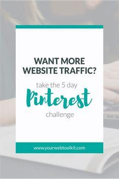 Want more website traffic? Marketing Services, Marketing Strategies, Media Marketing, Inbound Marketing, Digital Marketing, Branding, Pinterest For Business, Online Entrepreneur, Pinterest Blog