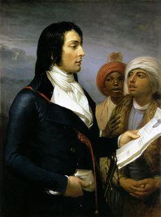 General Louis Charles Desaix by Anne-Louis Girodet Trioson.
