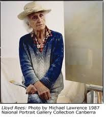 Lloyd Rees by Michel Lawrence (b. via National Portrait Gallery Date Created 1987 Australian Painting, Australian Artists, Artist Art, Artist At Work, Book And Frame, Extraordinary People, National Portrait Gallery, Aboriginal Art, City Art