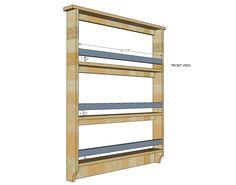 Wooden Dish Rack, Wooden Plate Rack, Plate Rack Wall, Diy Plate Rack, Wooden Plates, Hanging Plates, Plates On Wall, Easy Diy Projects, Wood Projects