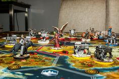 Scythe Board Game Painted Minis / Miniatures | by projectmoonlightcafe