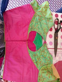 Kids Blouse Designs, Simple Blouse Designs, Stylish Blouse Design, Bridal Blouse Designs, Churidar Neck Designs, Saree Blouse Neck Designs, Princess Cut Blouse Design, Simple Blouse Pattern, Designer Blouse Patterns