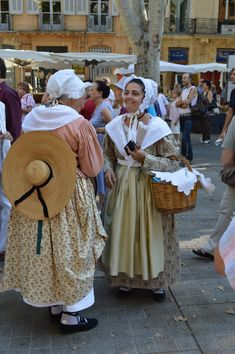 #provencetraditions #provencaltraditions #AixenProvence #provencalconfectionary French Costume, Historical Dress, Aix En Provence, 18th Century, Wanderlust, Illustrations, Costumes, Sewing, Travel