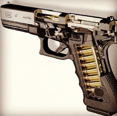 #glock #glock17 #guns Find our speedloader now! http://www.amazon.com/shops/raeind