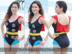 Thor bathing suit.
