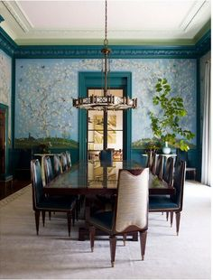 Steven Gambrel Dining Tables and chairs. Sideboards and accents. Flooring, carpets and lighting ideas. Chandeliers, pendant light fixtures,ceiling, art and accessories. Decorating. Color. Modern.