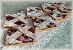 Bakery Recipes, Dessert Recipes, Desserts, Good Bakery, Czech Recipes, Waffles, Recipies, Sweets, Baking