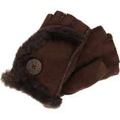 UGG - Mini Bailey Fingerless Glove (Chocolate) - Accessories Ugg Snow Boots, Ugg Boots Cheap, Ugg Winter Boots, Biker Gloves, Brown Leather Gloves, Mini Baileys, Boating Outfit, Dress Gloves, Wrist Warmers